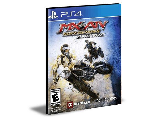 MX vs. ATV Supercross Encore  -  PS4 PSN MÍDIA DIGITAL