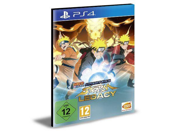 NARUTO SHIPPUDEN Ultimate Ninja STORM Legacy  - PS4 PSN MÍDIA DIGITAL