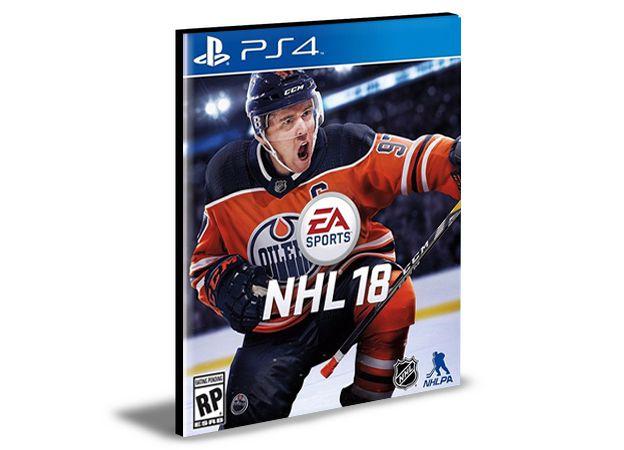NHL 18   -  PS4 PSN MÍDIA DIGITAL
