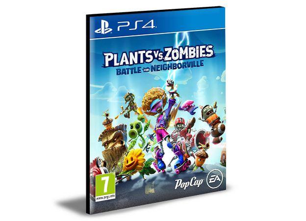 PLANTS Vs ZOMBIES BATTLE FOR NEIGHBORVILLE  -  PS4 PSN MÍDIA DIGITAL