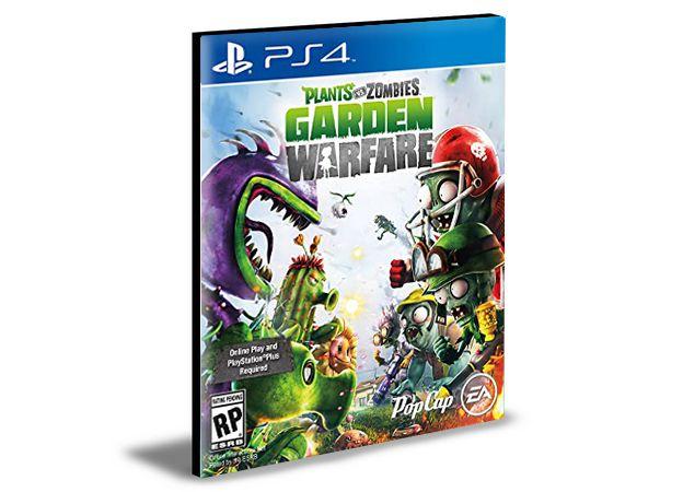 Plants Vs Zombies Garden Warfare - PS4 PSN MÍDIA DIGITAL