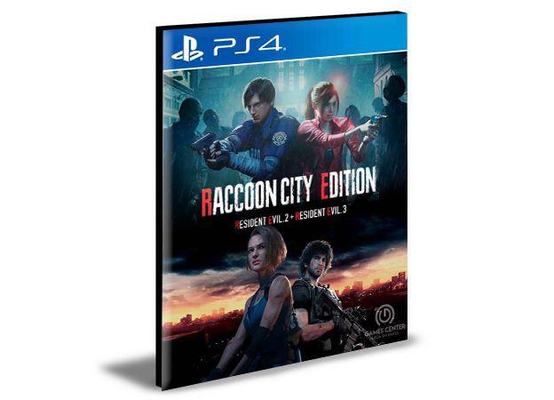 RACCOON CITY EDITION -  PS4 PSN MÍDIA DIGITAL
