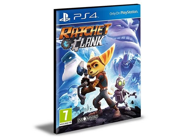 RATCHET e CLANK  -  PS4 PSN MÍDIA DIGITAL