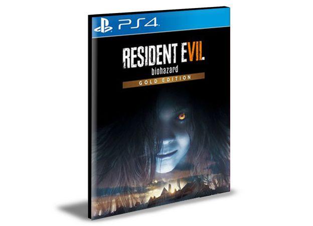 RESIDENT EVIL 7 biohazard Gold Edition   -  PS4 PSN MÍDIA DIGITAL