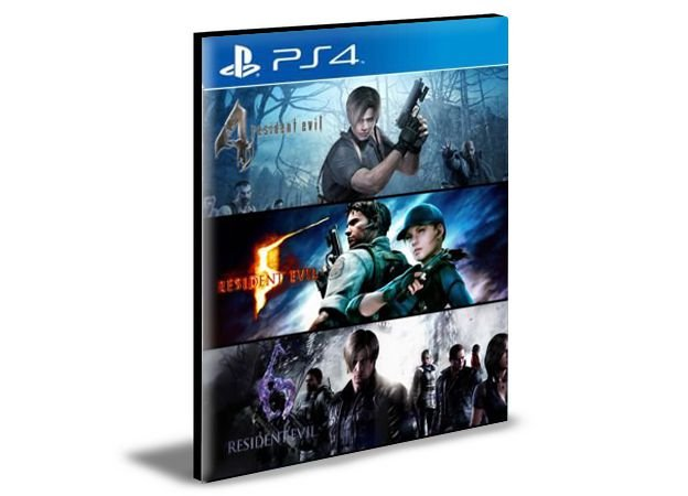 Resident Evil Triple Pack  -  PS4 PSN MÍDIA DIGITAL