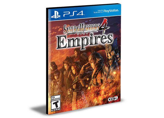 SAMURAI WARRIORS 4 Empires  -  PS4 PSN MÍDIA DIGITAL