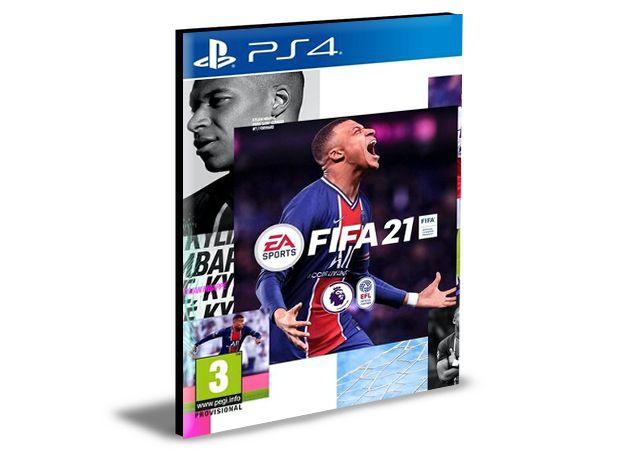 FIFA 2021 -  Portuguès  - PS4 PSN MÍDIA DIGITAL