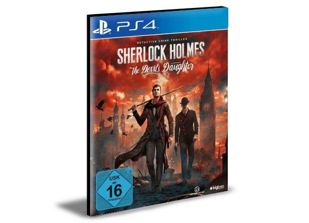 Sherlock Holmes The Devil's Daughter  PS4 PSN MÍDIA DIGITAL