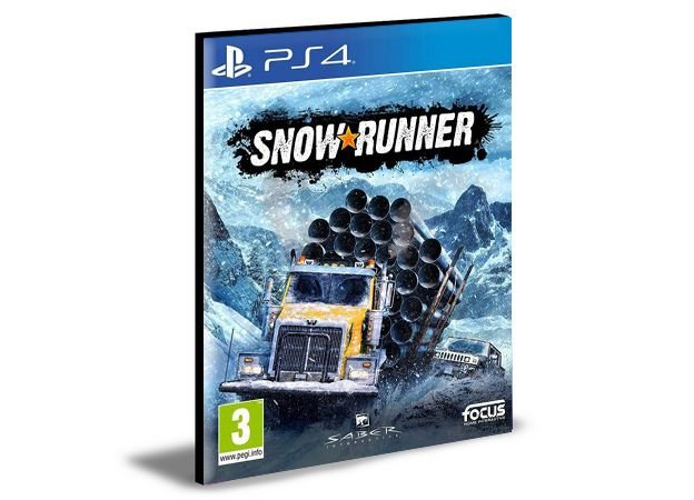 SnowRunner -  PS4 PSN MÍDIA DIGITAL