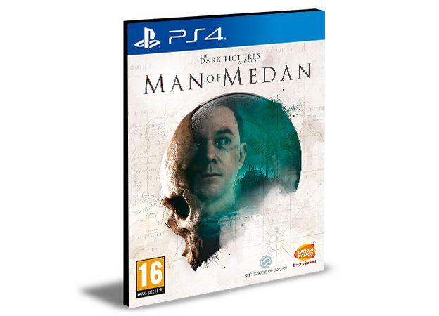 THE DARK PICTURES ANTHOLOGY MAN OF MEDAN - PS4 PSN MÍDIA DIGITAL