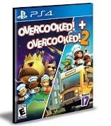 OVERCOOKED! + OVERCOOKED! 2 PS4 - MÍDIA DIGITAL