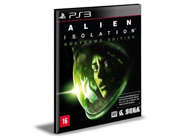 ALIEN ISOLATION - PS3 PSN MIDIA DIGITAL