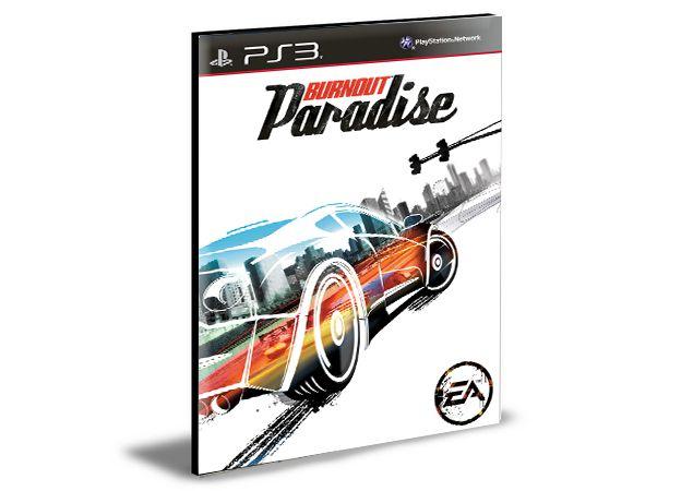 BURNOUT PARADISE  - PS3 PSN MIDIA DIGITAL
