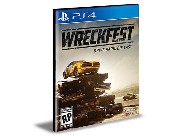 WRECKFEST - PS4 PSN MÍDIA DIGITAL