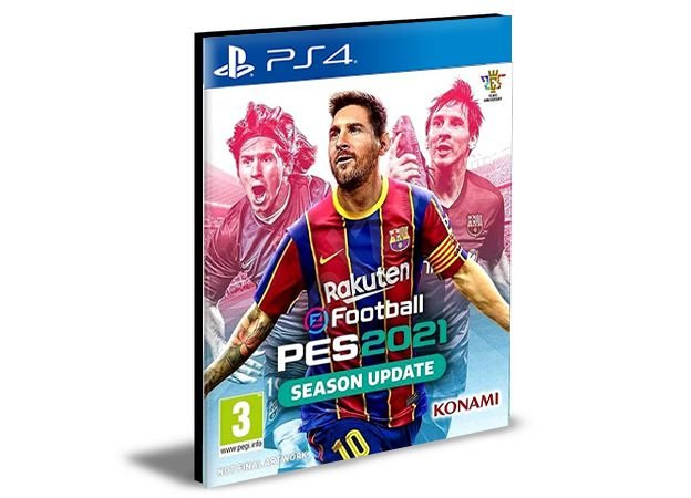PES 2021 SEASON UPDATE STANDARD EDITION PS4 PSN Mídia Digital