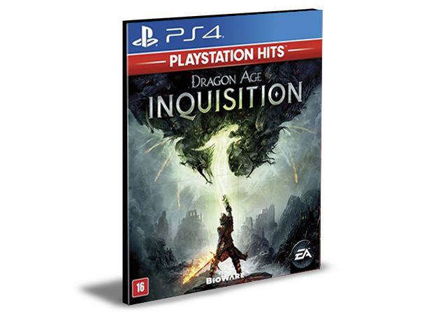 DRAGON AGE INQUISITION  DELUXE EDITION PORTUGUÊS  PS4  PSN  MÍDIA DIGITAL