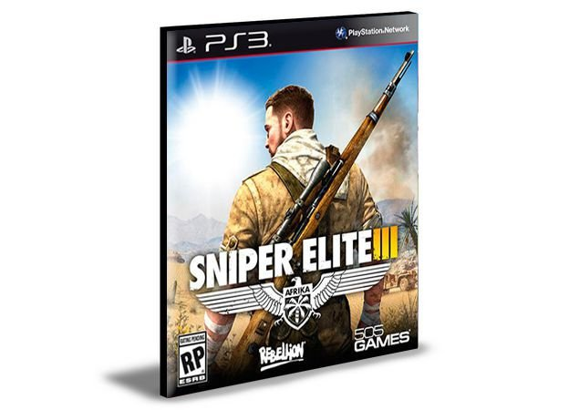 SNIPER ELITE 3  - PS3 PSN MÍDIA DIGITAL