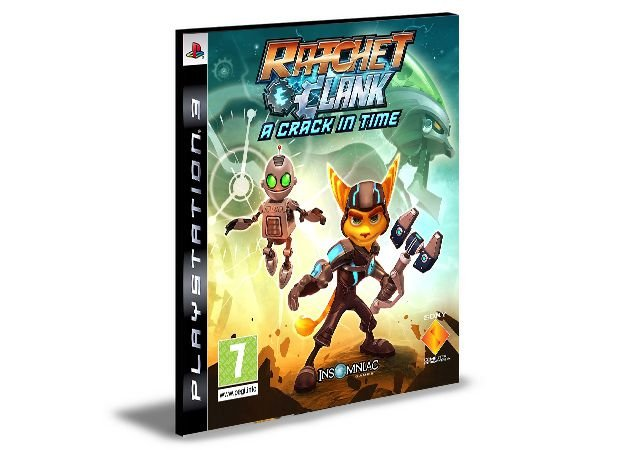 RATCHET & CLANK FUTURE A CRACK IN TIME - PS3 PSN MIDIA DIGITAL
