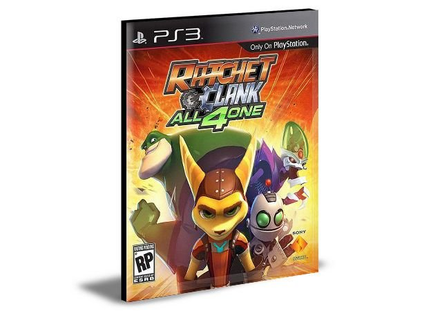RATCHET & CLANK: ALL 4 ONE - PS3 PSN MÍDIA DIGITAL