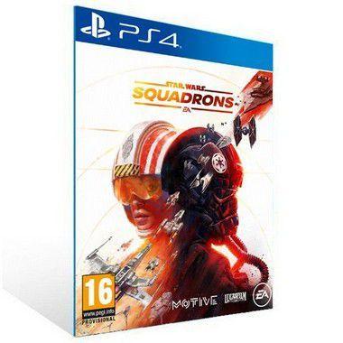 STAR WARS SQUADRONS  - PS4 PSN MÍDIA DIGITAL