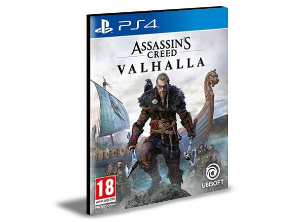 Assassins Creed Valhalla - PS4 & PS5 - PSN MÍDIA DIGITAL