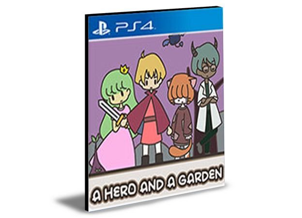 A HERO AND A GARDEN -PS4 & PS5 PSN MÍDIA DIGITAL