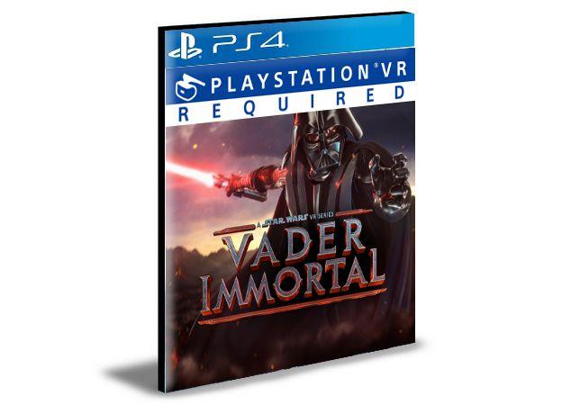 Vader Immortal  A Star Wars VR Series -Ps4 -Midia Digital