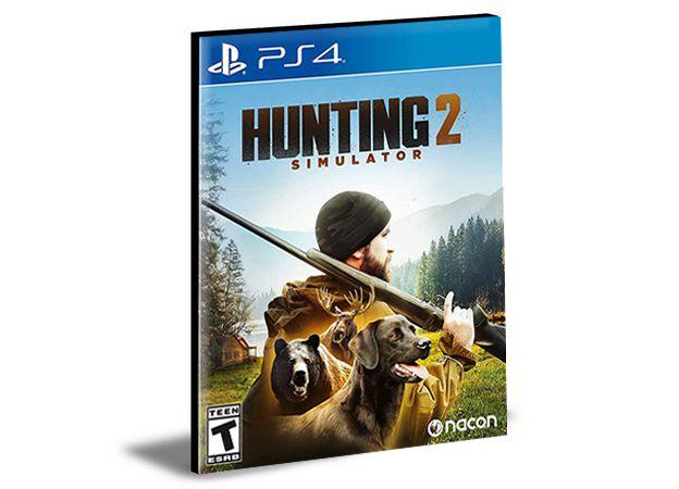 HUNTING SIMULATOR  2- PS4  PSN - MÍDIA DIGITAL