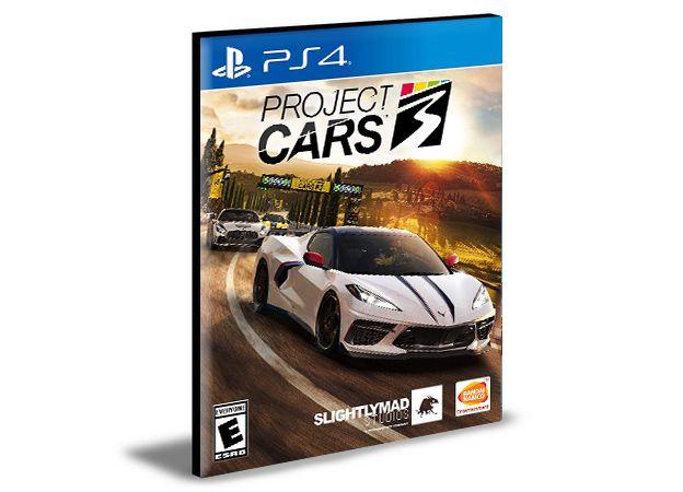Project CARS 3 - PS4 PSN MÍDIA DIGITAL