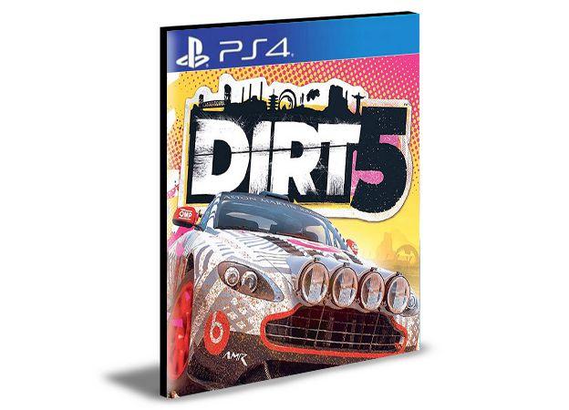 DIRT 5 PS4 e PS5 - PSN MÍDIA DIGITAL