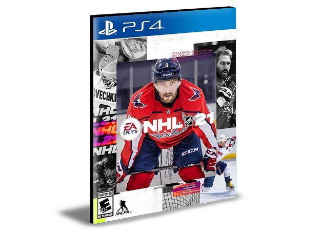 NHL 21 Standard Edition - PS4 e PS5 -PSN MÍDIA DIGITAL