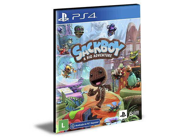 SACKBOY UMA GRANDE - PS4 e PS5 - PSN MÍDIA DIGITAL