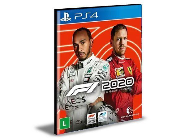 F1 2020 PS4 E PS5 PSN MÍDIA DIGITAL