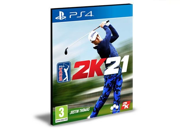 PGA TOUR 2K21 - PS4 PSN MÍDIA DIGITAL