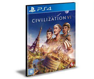 SID MEIER'S CIVILIZATION VI PS4 E PS5 PSN MÍDIA DIGITAL