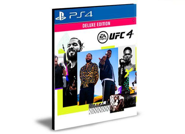 UFC 4 Deluxe Edition PS4 E PS5 - MÍDIA DIGITAL