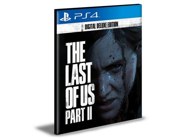 The Last of Us Part II Digital Deluxe Edition - PS4 PSN MÍDIA DIGITAL