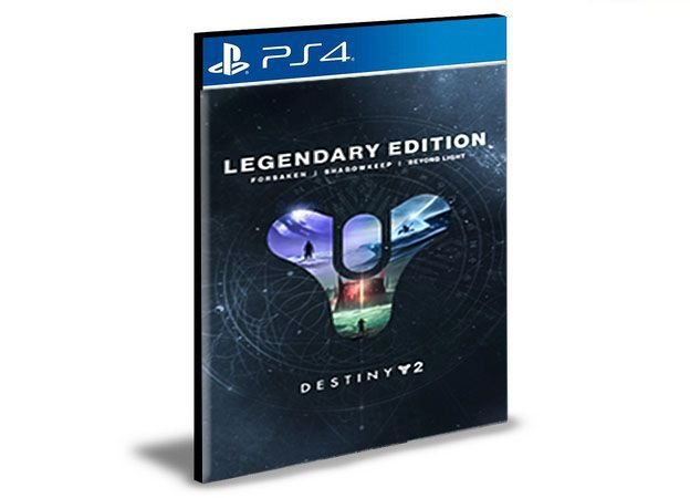Destiny 2: Legendary Edition - PS4 & PS5 PSN Mídia Digital