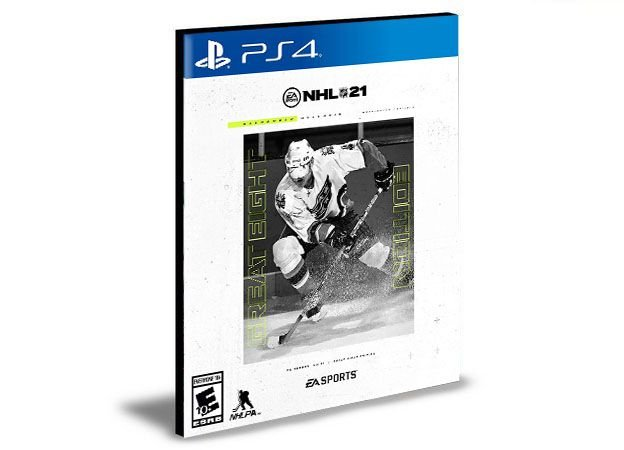NHL 21 Great Eight Edition - PS4 e PS5 -PSN MÍDIA DIGITAL