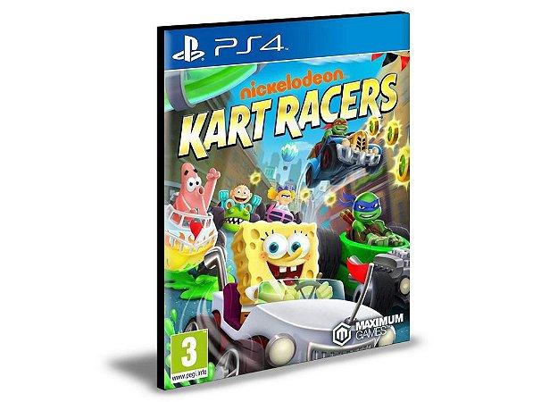 NICKELODEON KART RACERS PS4 E PS5 PSN MÍDIA DIGITAL