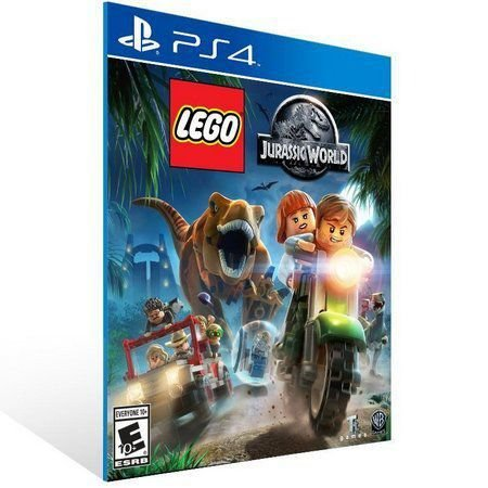 LEGO JURASSIC WORLD PS4 E PS5 PSN MÍDIA DIGITAL
