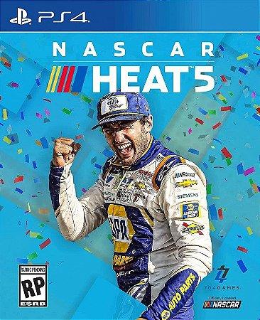 NASCAR HEAT 5 PS4 E PS5 PSN MÍDIA DIGITAL