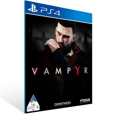 VAMPYR PS4 E PS5 PSN MÍDIA DIGITAL
