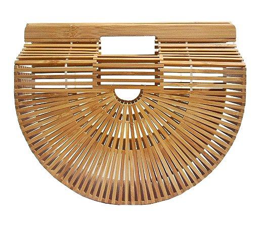 Bolsa de bambu rattan