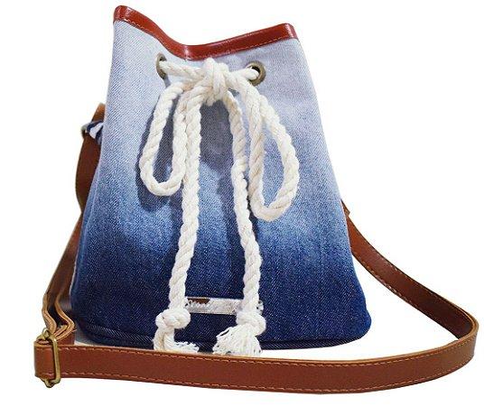 Bolsa Saco Jeans a Tiracolo P