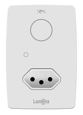 Interruptor Programável Touch 1 pad c/ Tomada - Tok