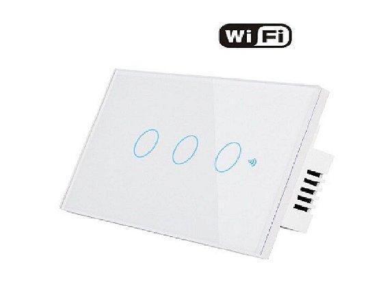 Interruptor WIFI de parede - Casa Inteligente - Smart Life