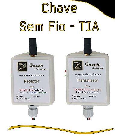 Chave Boia Sem Fio 100m -  Transmissor + Receptor