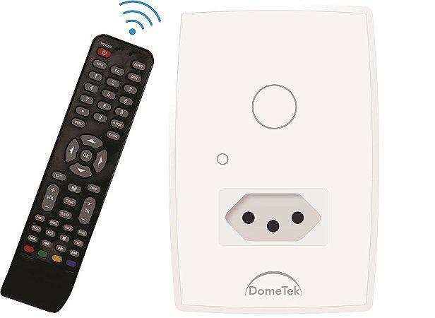 Interruptor Touch 1 PAD Tomada IR DMD BRANCO