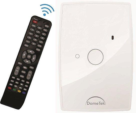 Interruptor Touch 1 PAD IR DIAMOND  Branco